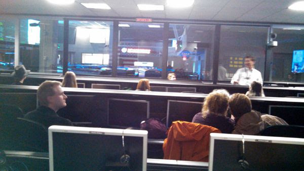Inside the SFOF's Mission Support Room (MSR) at the Jet Propulsion Laboratory near Pasadena, California...on December 3, 2014.