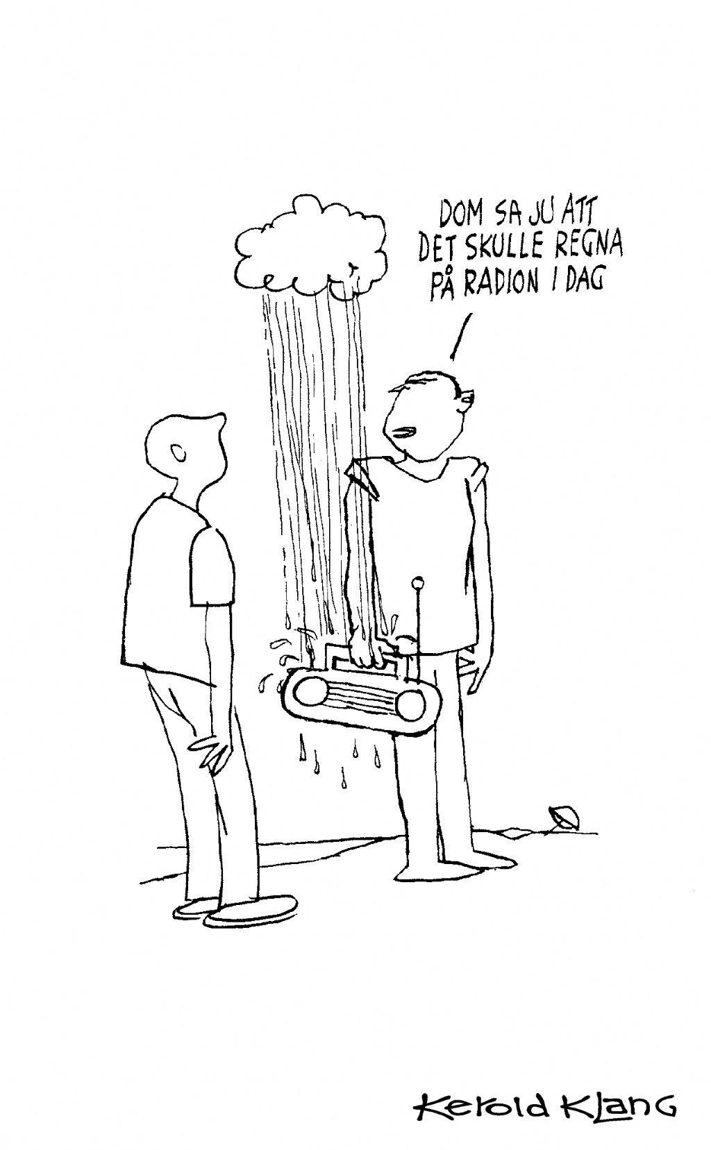 regn pa radion 68