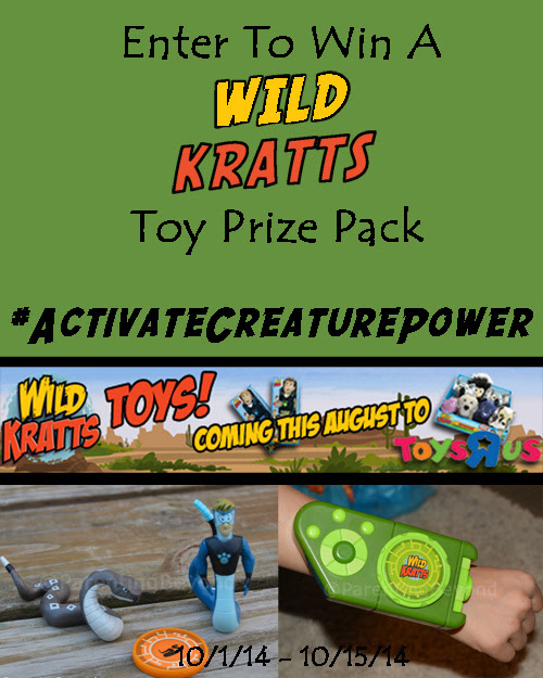 .@ParentingBeyond WILD KRATTS Toys Are At Toys R Us: Review & Giveaway #ActivateCreaturePower #Giveaway @WildKrattsOff Ends 10/15