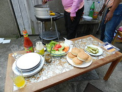 BBQ lunch with my Sri Lankan friends