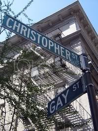 Christopher Street and Gay Street in Greenwich Village:  Best of Gay New York