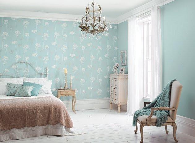 Bedroom Wallpaper Feature Wall 3 Decor Ideas ...