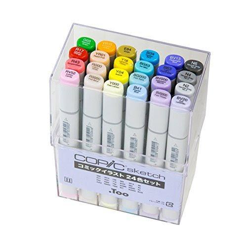 値段 コピック ダイソーにコピック!?イラストマーカー全20色の色見本と本物のコピックとの違いを紹介