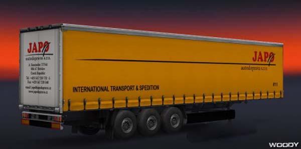 JAPO autodoprava skin for trailers