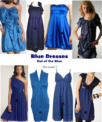 Some Kind Of Blue: Blue Dresses