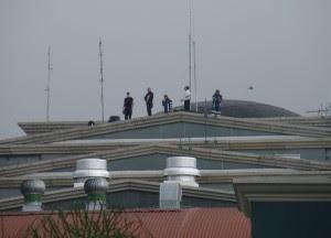 """Francotiradores: guardianes que desde el """"cielo"""" cuidan a Obama"""