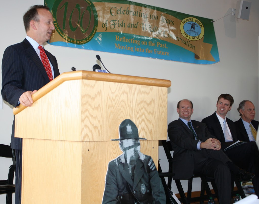 Governor Markell Celebrating 100 Years of Conservation
