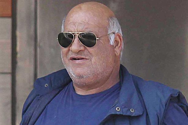 Digger driver Konstantinos Barkas