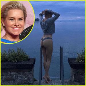 Yolanda Hadid Wears Thong, Bares Her Butt in New Photo