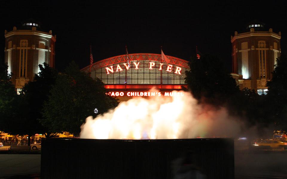 Navy in the mist