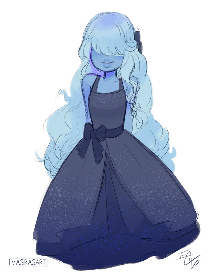 a sapphire before bed