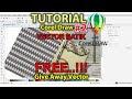 Cara membuat Vector Batik dengan CorelDRAW - Latihan CorelDRAW