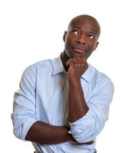 african american man thinking courtesy of Daniel M Ernstshutterstockcom_153872831