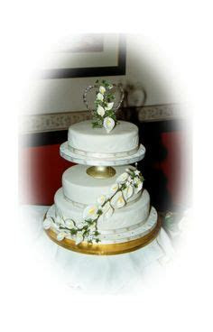 Walmart 3 Tier Wedding Cakes   The three tiers were made