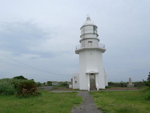 The Miurakaigan lighthouse