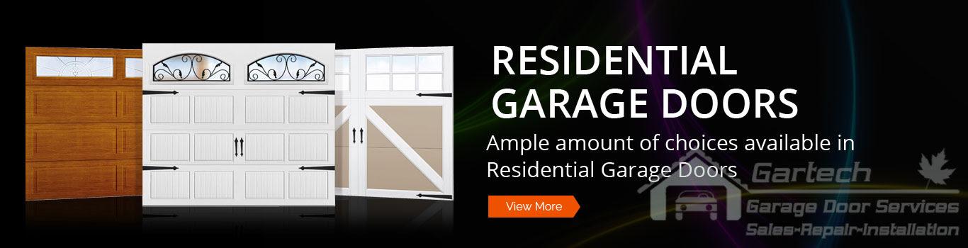 Garage Doors Mississauga Repairs Installation Gartech Garage Door Repair