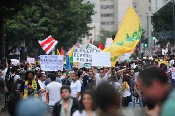 Dilma Rousseff disse que, se necessário, ordenará a mobilização militar foto: Iano Andrade/CB/D.A Press (Iano Andrade/CB/D.A Press)
