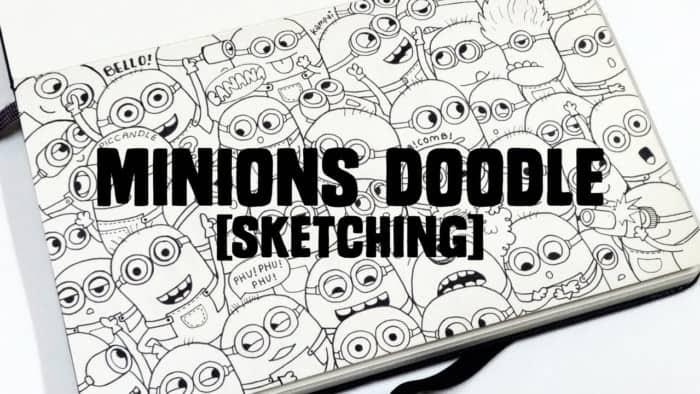 7 Cara Membuat Doodle Art Name Simple 50 Contoh Gambar Doodle