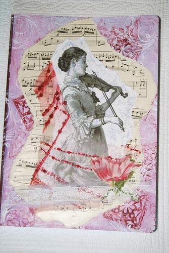 Cuaderno la violinista