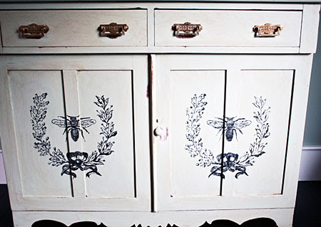 DIY Painted Furniture Project w/ Cynthia - A Button Tufted Life ...
