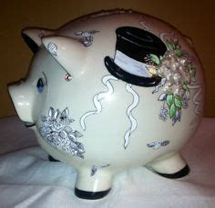 Ceramic 'Honeymoon Fund' Piggy Money Box ~ Engagement Gift