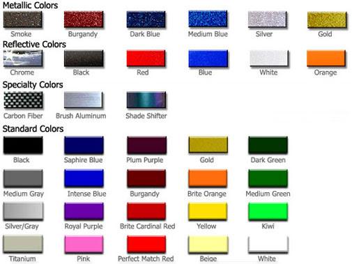 automotive paint color chart 2017 - Grasscloth Wallpaper