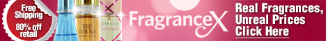 FragranceX.com Large Banner