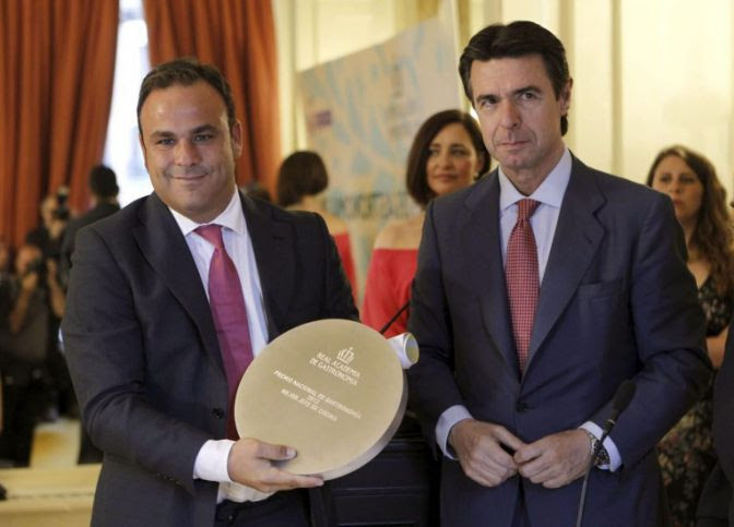Ángel León, Premio Nacional de Gastronomía 2012