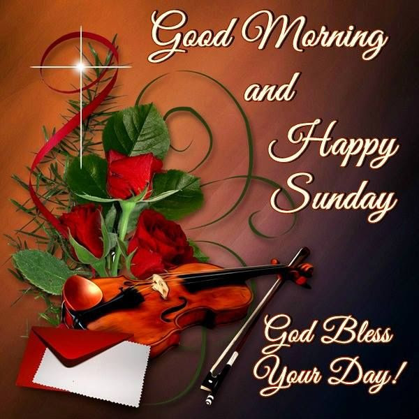 Good Morning And Happy Sunday God Bless Your Day Pictures Photos