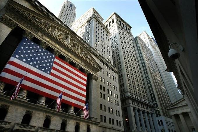 États-Unis: Les marchés actions finissent en baisse; l'indice Dow Jones Industrial Average recule de 0,46%