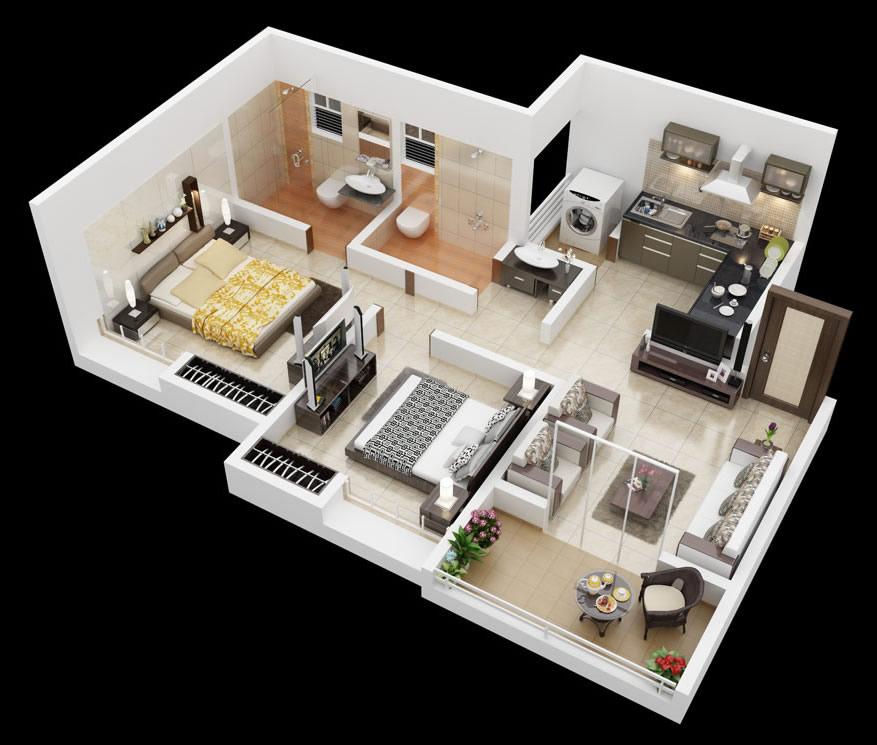 Shared Apartment Ideasinterior Design Ideas