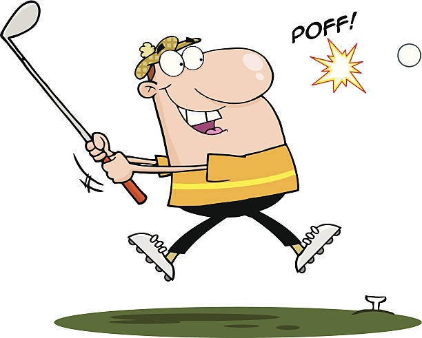 Funny Golf Pictures Clip Art - Funny PNG