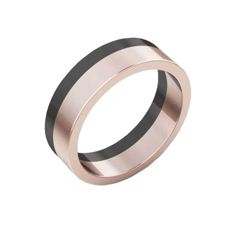 mens wedding rings  white gold  red gold