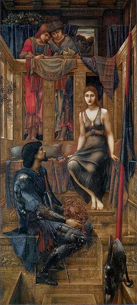 Edward Burne-Jones, 'King Cophetua and the Beggar Maid (1884)' (from Wikimedia Commons)