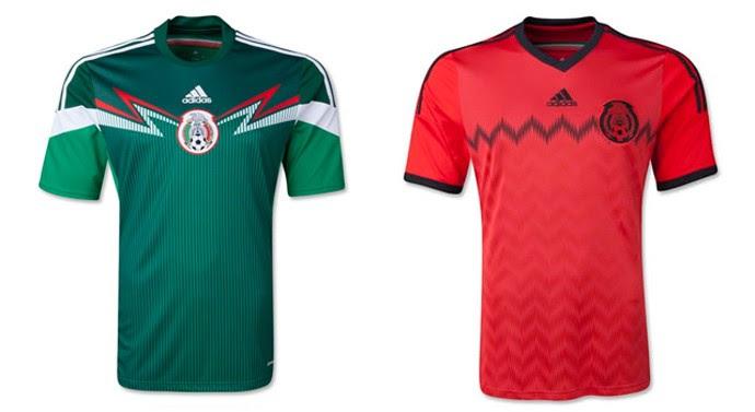 Mexico camisa copa