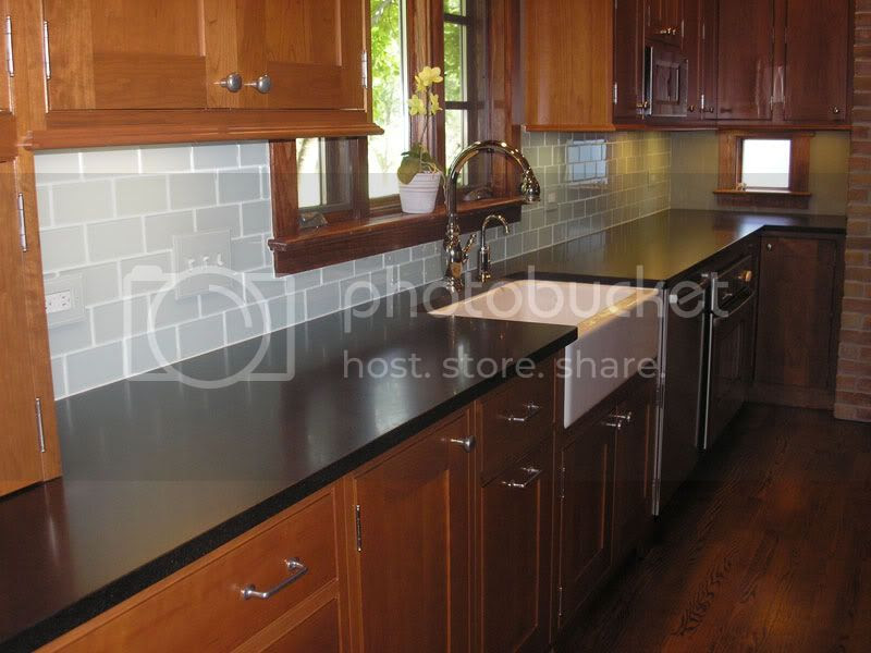 Chosing a backsplash with black granite counters - Kitchens Forum ...