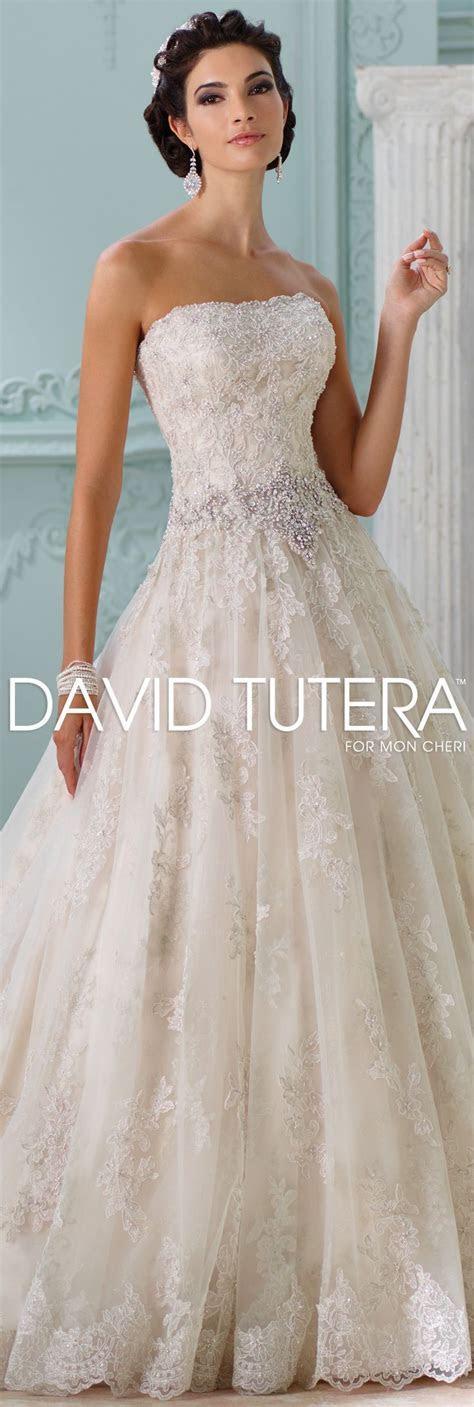 The David Tutera for Mon Cheri Spring 2016 Wedding Gown