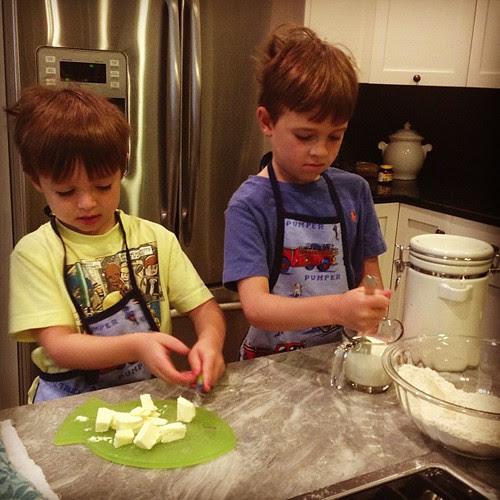 Scone making #mamapajamaschool
