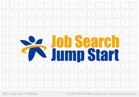 logo design job search logo