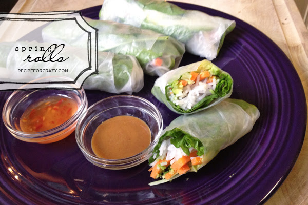 Spring rolls by recipeforcrazy