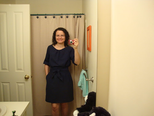 Simplicity 2406 Cynthia Rowley rolled sleeves