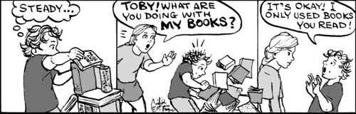 Home Spun comic strip #633