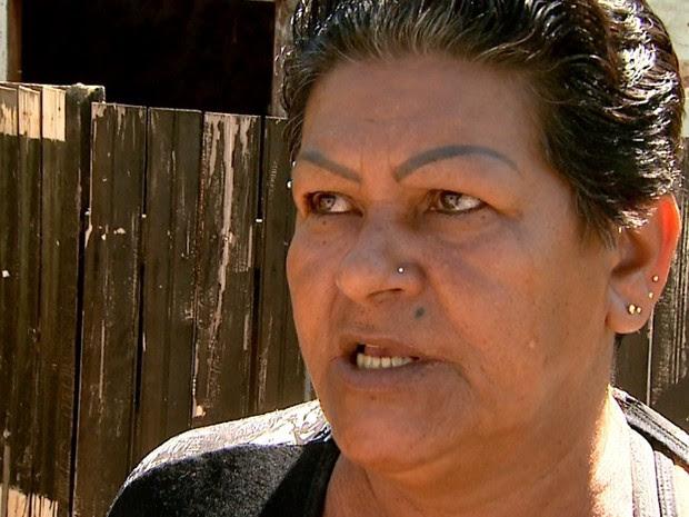 Suzi Amâncio Vieira diz que não se arrepende de ter matado o filho (Foto: Reprodução/EPTV)