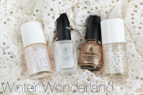 winter snow nail polishes christmas