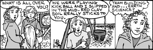 Home Spun comic strip #723