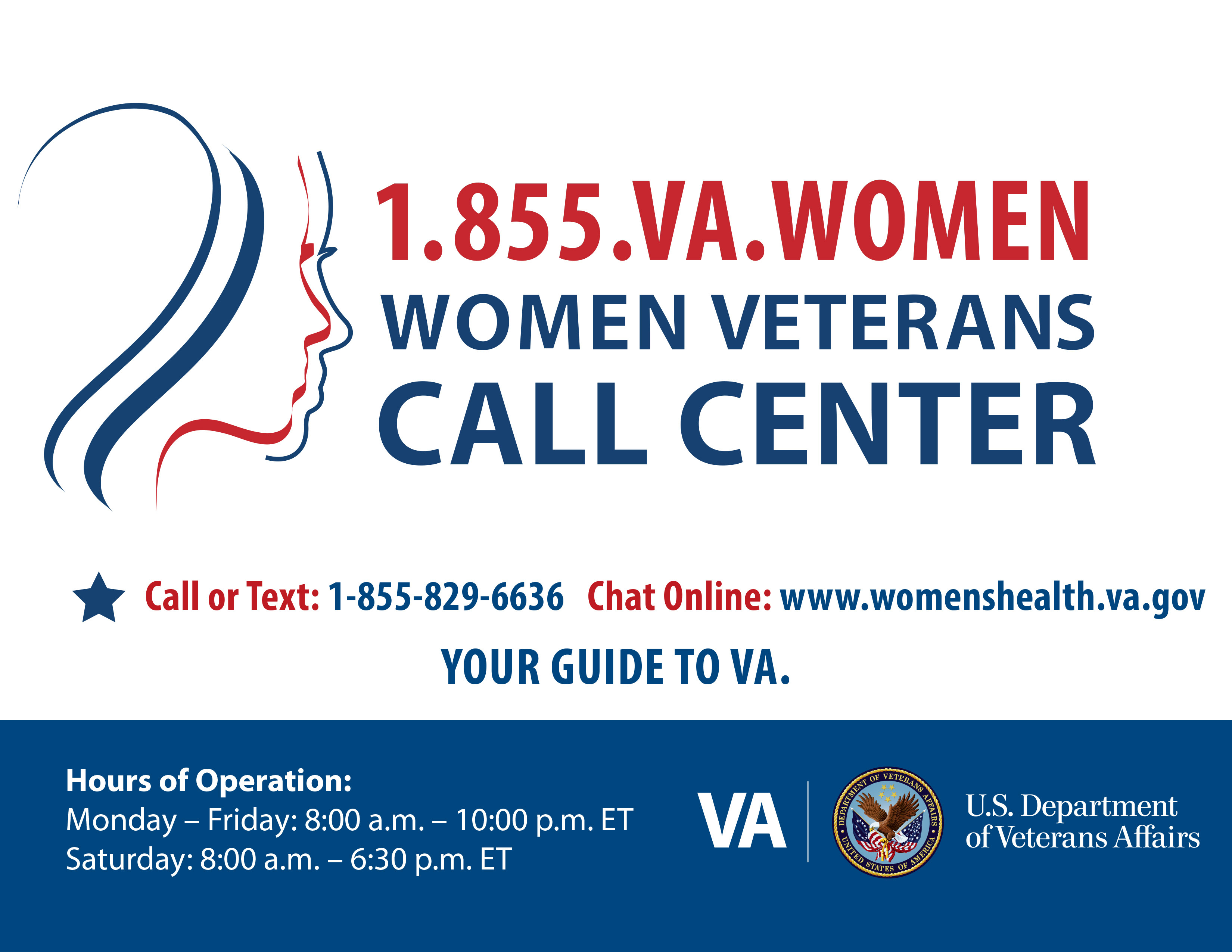 Trust her to find answers - Women Veterans Health Care
