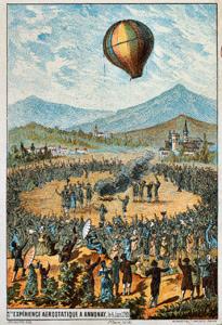 Balonul cu aer cald (Imagine: Wikipedia)