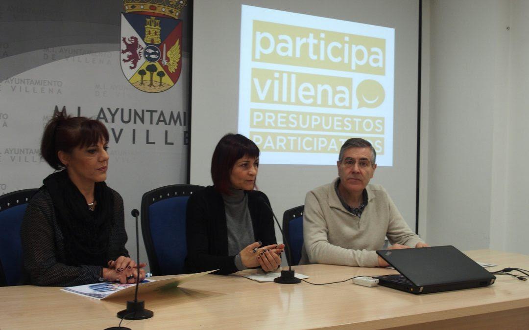Villena presenta sus primeros presupuestos participativos