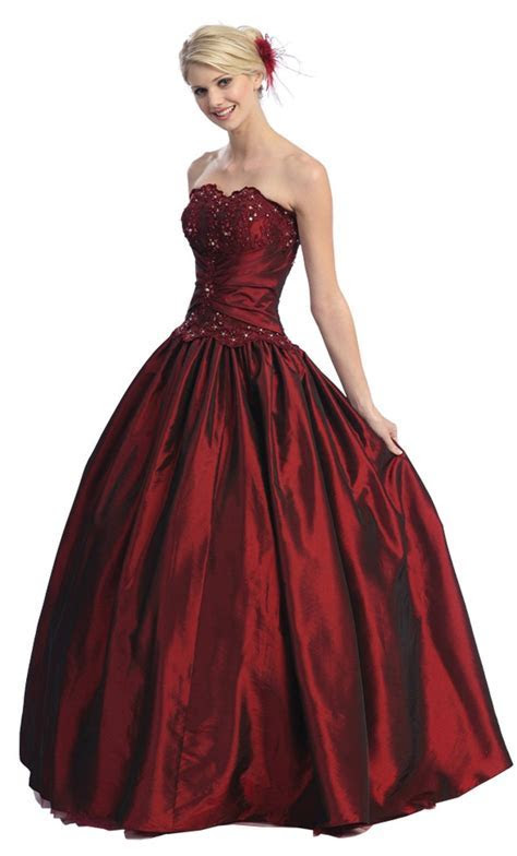 Beautiful Wedding Dresses: Ball Gown Strapless Formal Prom