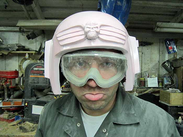 IG Helmet Glossy Front